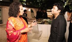 oprah winfrey in saree